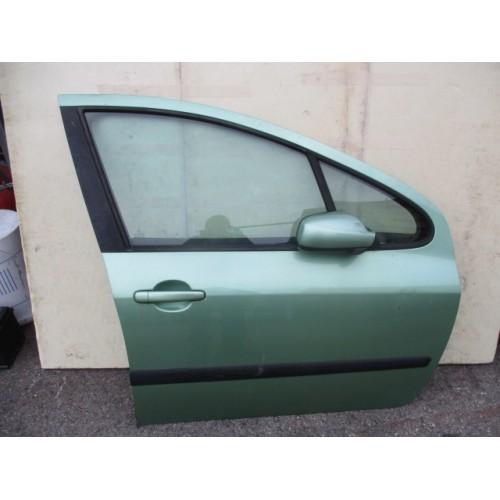 Porte avant droite de Peugeot 307 années 1998-2002